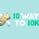10 ways to 10k social header